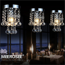 Crystal ceiling lights Fixture Small Clear lustre de cristal crystal light for Aisle Stair Hallway corridor porch light(China (Mainland))