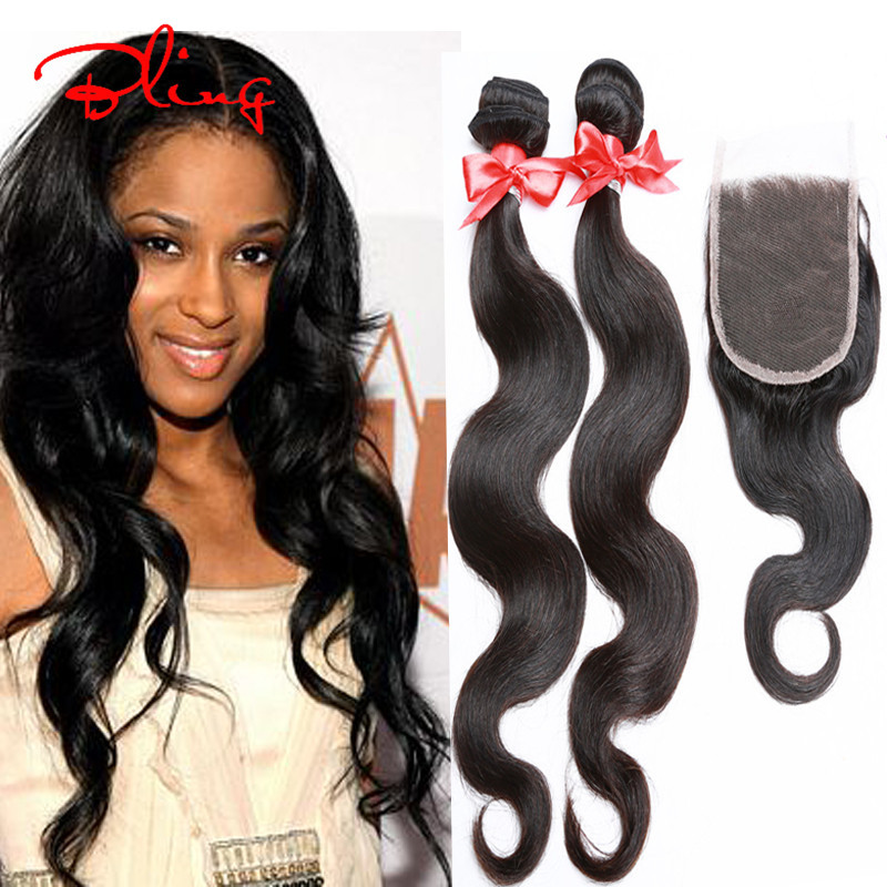 Rosa Hair Products Malaysian Body Wave With Closure Malaysian Virgin Hair With Closure Top 7A Human Hair Body Wave With Closure<br><br>Aliexpress
