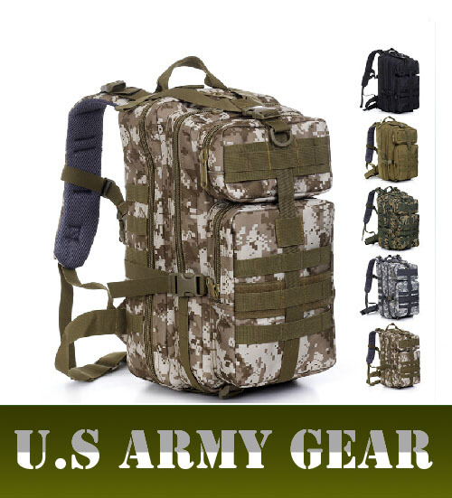 Outdoor 3P Assault tactical backpacks Men Military Backpack U.S ArmyGear Hunting Hiking camping bags Camouflage Ride Bags D77 - Himalayan Fashion Store store