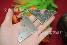 Fillet factory direct antique wooden gift box stickers affixed angle corner alloy fillet M1342