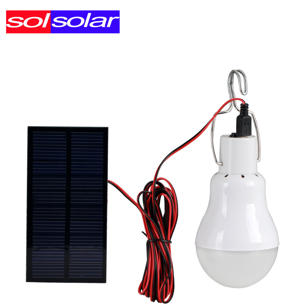 5PCS/LOT 0.8W Solar panel 2W LED bulb LED Solar Lamp Solar Power LED Light Outdoor Solar Lamp Spotlight Garden Light(China (Mainland))