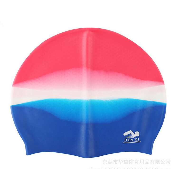 Fashion Make in China High Elastic Swimming Cap More Stick Take General Long Hair Silica Gel Waterproof Swimmer Hat Unisex(China (Mainland))