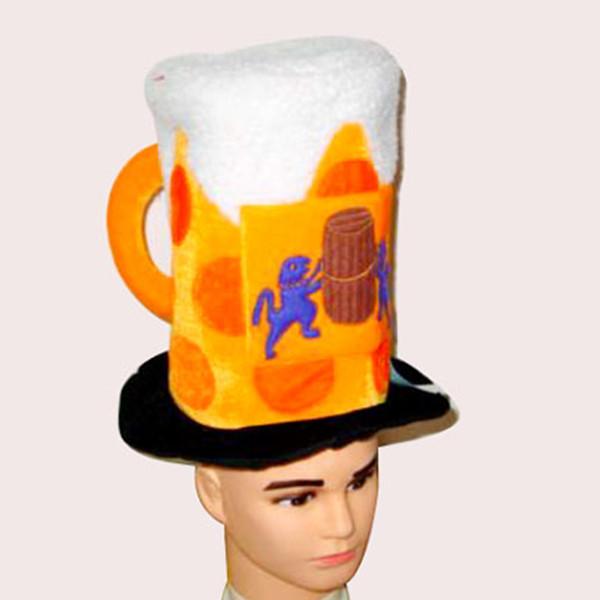 Mardi Gras Gifts / Oktoberfest beer mug hat bar holiday party decorations masquerade - 00000 store