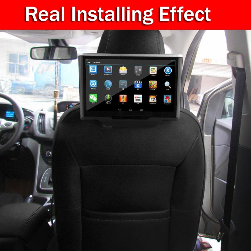 10.1″ MP5 Monitor+Pure Android 4.1 3G/WiFi Car Headrest Radio GPS Touch Car Video Audio Monitor Head Rest+IR headphones