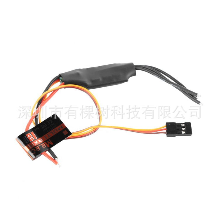 Manufacturers MR.RC 12A Brushless ESC cost-effective super good earnings power converter through FPV Yin Yan axis QAV250(China (Mainland))