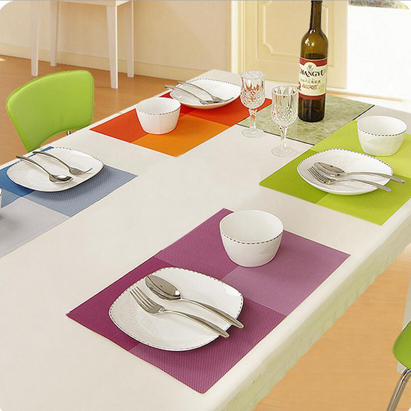 Dining Table Mats Set De Table Bowl Pad Napkin Dining Table Tray Mat
