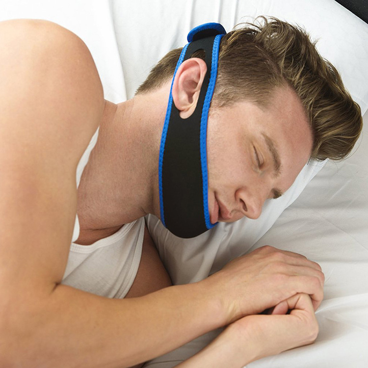 Stop Snoring Chin Strap Anti Snore Chin Strap Snore Belt Sleep Support Anti Apnea Jaw Solution