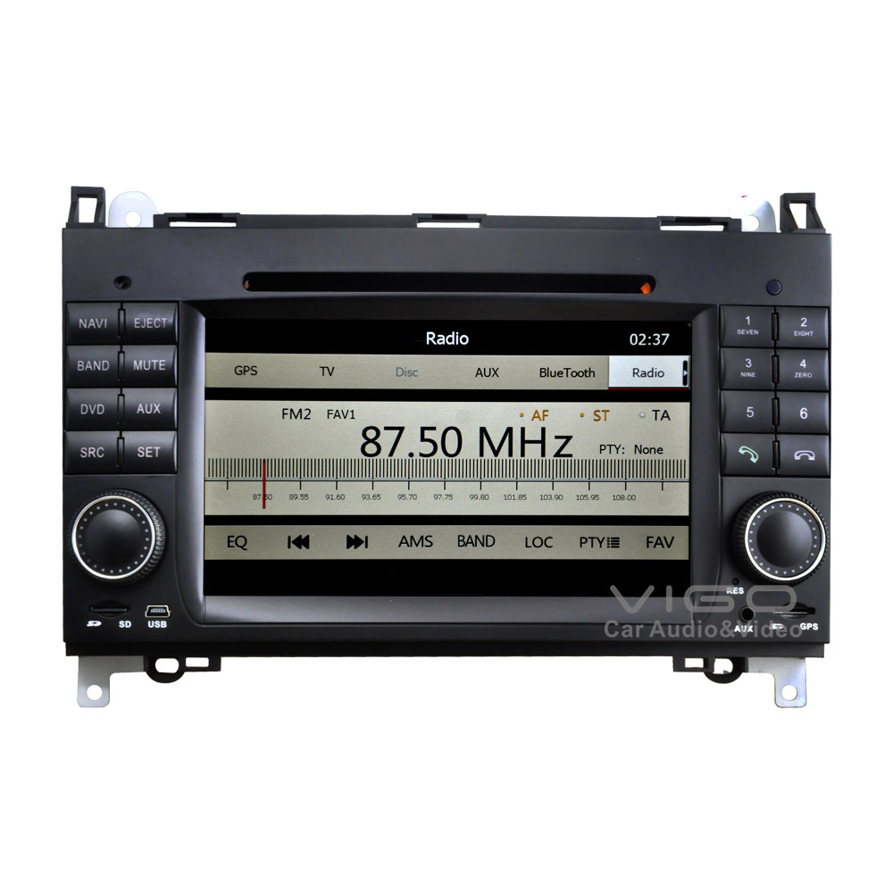 Car stereo gps navigation for mercedes benz a b class for Mercedes benz stereo