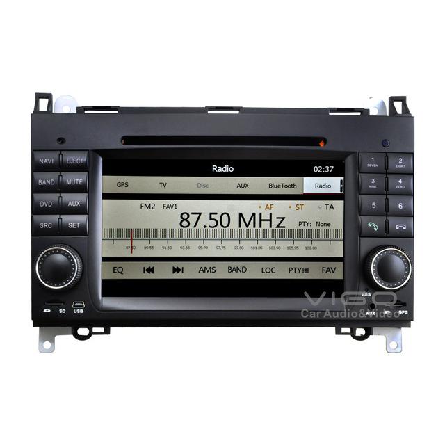 Car Stereo GPS Navigation for Mercedes Benz A B Class Viano Vito Sprinter Radio Multimedia Headunit Sat Nav Autoradio Bluetooth