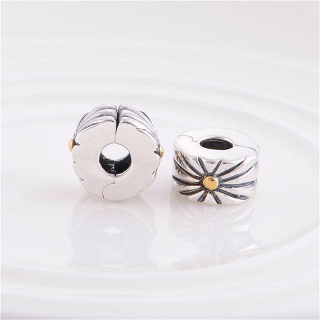 Новые 925 серебряные ювелирные изделия замок клип ядро бусины феиэрверк шарм DIY ювелирных украшений выводы Fit пандора серебряный браслет