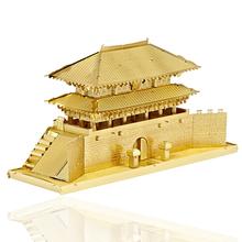 Sungnyemum Ворота 3D Металлические Головоломки, Развивающие Игрушки Для Мальчика DIY Строительство Модель Из Нержавеющей Стали Сборки Головоломки Детские Игрушки