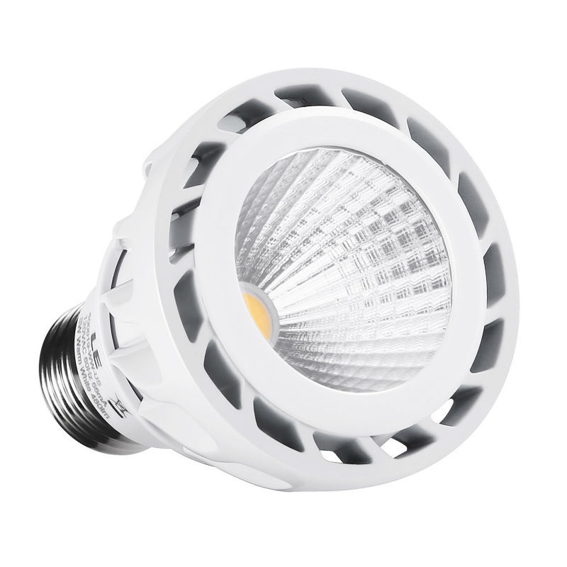 LE 8W Dimmable PAR20 E26 LED Bulb, 75W Equivalent, Warm White, Spotlights, Recessed Lights, Track Lights(China (Mainland))