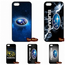 Subaru Logo Car Phone Cases Cover For Apple iPhone 4 4S 5 5C SE 6 6S 7 Plus 4.7 5.5 iPod Touch 4 5 6(China (Mainland))