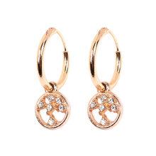 Artilady Khuyên tai sụn bông tai nhỏ đôi khuyên tai vòng dành cho nữ trang sức quà tặng(China)