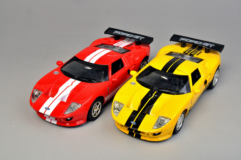 Free Shipping Car toy car alloy WARRIOR alloy car models FORD gt super car(China (Mainland))