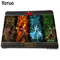 Hot Game League of Legends Mousepad Speed Up Computer Locking Edge Mause Pad Gamer Play Mat