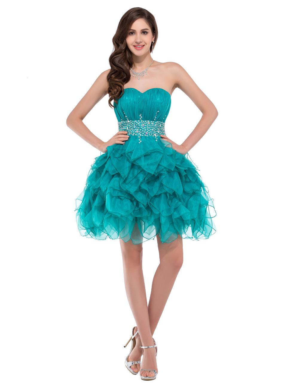 Popular Turquoise Short Prom Dresses Buy Cheap Turquoise Short Prom Dresses Lots From China
