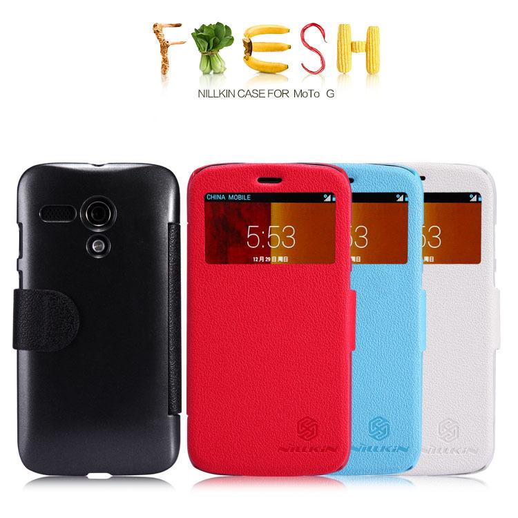 Phone Cases Fresh Series Leather Case for Motorola Moto G(China (Mainland))