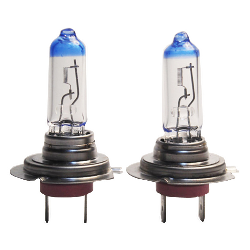 New design 2pcs H7 12V 55W px26d E4 car light course headlight bulb halogen lamp clear focusing as bright as HID Eagleye CP131(China (Mainland))