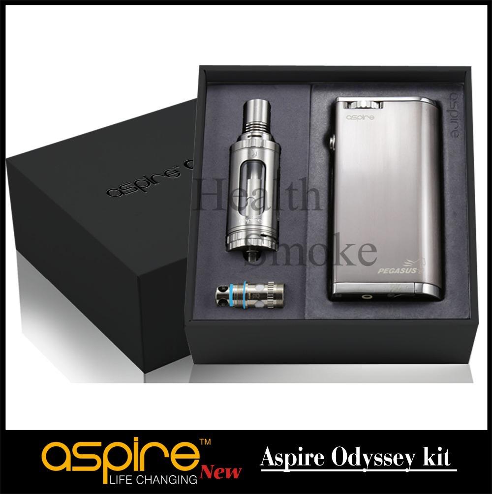 Гаджет  2015 Original Aspire Pegasus mod with Aspire triton atomizer Aspire Pegasus box mod for Aspire Odyssey Kit None Бытовая электроника