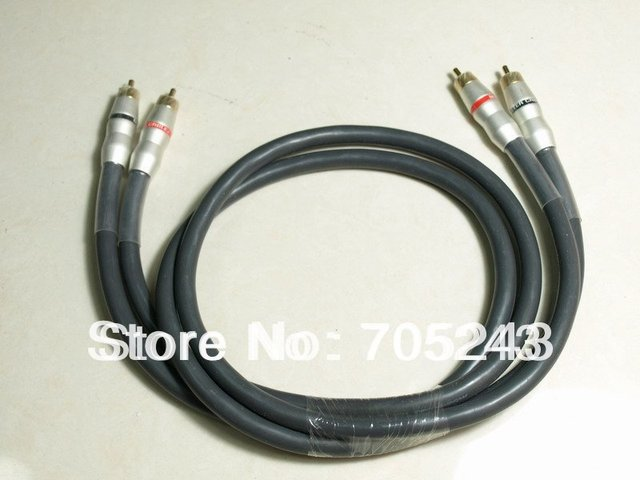 pair 2pcs hi value   M2000 audio signal cable(1 metter)