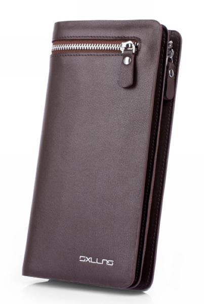 monederos mens wallet purse men leather genuine mens long brand wallet man wallet carteira masculina cartera hombre billeteras <br><br>Aliexpress