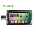 New 2din Universal 6 2 Android Car DVD multimedia player with GPS Navi 1024 600 Bluetooth