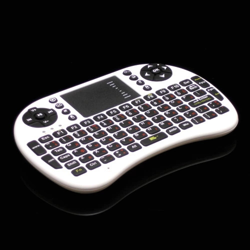 New 2014 Air Mouse 92 Key Mini Portable 2.4GHz Russian layout Keyboard Mouse Touchpad Remote Game Controller Wireless Keyboard(China (Mainland))