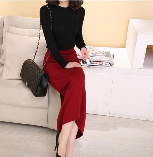 Long maxi pencil skirt – Modern skirts blog for you
