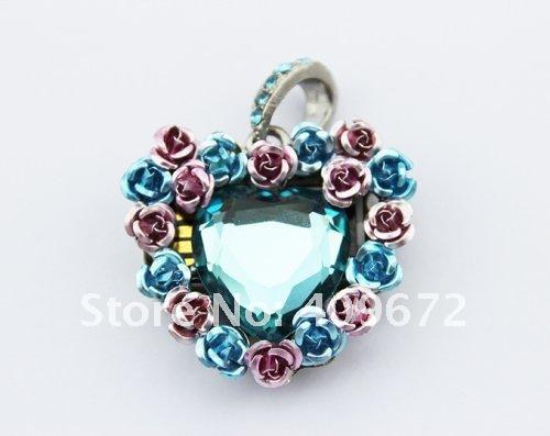 genuine 2G 4G 8G 16G 32G usb flash memory stick usb flash drive jewelry love rose heart Free shipping wholesale 10pcs/lot(China (Mainland))