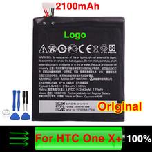 Действительно 2100 мАч оригинальный аккумулятор мобильного телефона для HTC One X + S720E One X S728e + Pluse S728e One X + LTE с помощью бесплатных инструментов BM35100
