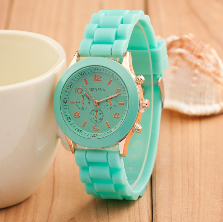 Brand Women Watch 2016 Fashion Geneva Colorful Silicone Analog Casual Quartz Luxury Wristwatch Relogio - BXboxue Store store