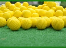 Hot  Wholesale  Indoor golf soft ball Golf practice balls Golf PU Balls golf supplies 300pcs/lot Free shipping