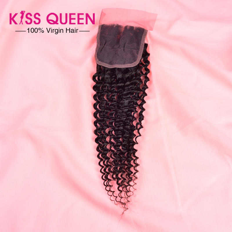 Mongolian kinky curly closure 100% unprocessed Mongolian kinky curly virgin hair lace closure Human Hair no tangle free shipping<br><br>Aliexpress