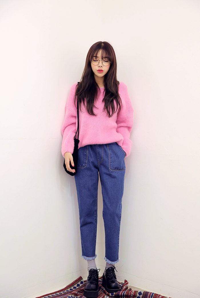 высокая талия широкие джинсовые Винтаж гарем брюки деним джинсы бойфренда для женщин к 2015 году летних женщин мешковатые джинсы плюс размер 1501191