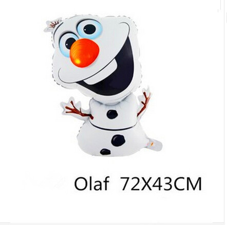 72*43cm Party Supershape Olaf Foil Helium Balloon Birthday Party Wedding Christmas Day Decoration Supplies Kids Gift Toy<br><br>Aliexpress