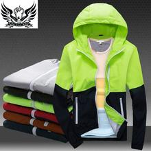 Jackets Women 2016 Spring New Sports Jacket Women's Hooded Outdoor Women Jacket Fashion Thin Windbreaker Men Outwear Women Coat(China (Mainland))