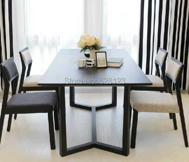 Dt006 contracted multi function table oak solid wood - Multi function dining table ...