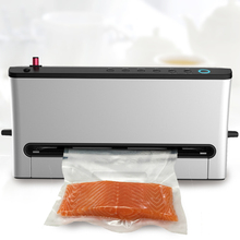 Free shipping commercial automatic vacuum machine vacuum sealing machine for small household food tea packaging machine