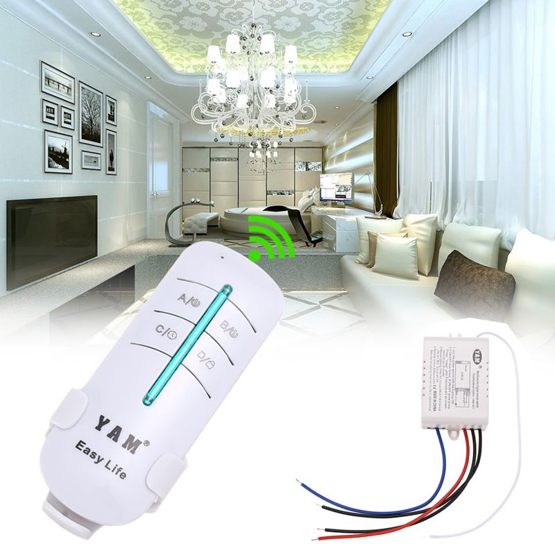 1 Way Port 200V-240V Lightswitch Wireless Wall Remote Control Switch Light Switch Remote Wall Switch Wireless Wall Light Switch(China (Mainland))