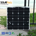 50W flexible solar panels rollable solar modules for RV with junction box MC4 connector