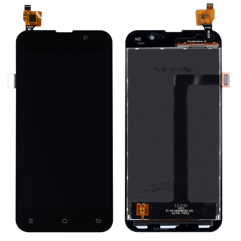 In Stock! Black Color New Digitizer Touch Screen LCD Display Assembly Replacement For ZOPO ZP980 C2 Free shipping