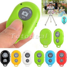 Freeshipping Wireless Bluetooth Camera Remote Control Self-timer Shutter For Samsung iphone
