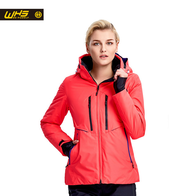 WHS New Women ski Jackets winter Outdoor Warm Snowboard Jacket coat female waterproof snow jacket ladies breathable sport suit
