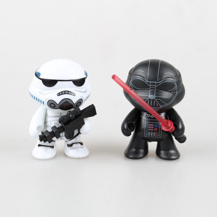 2016 Hot Star Wars Emperor Guards The Black Knight White Pawn Clone Troopers Star Wars Action