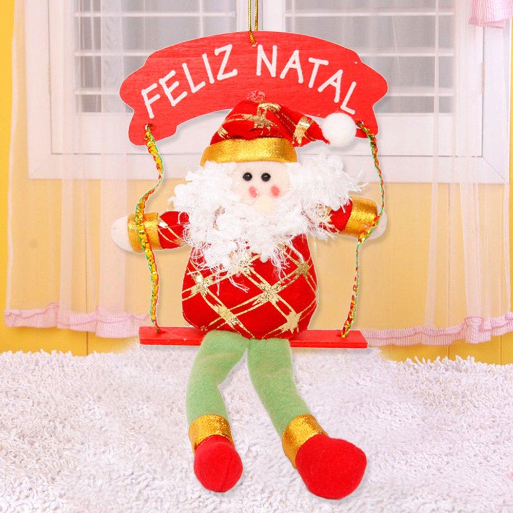 Santa Claus Font B Snowman