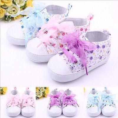 Девушки цветочные мягкой подошве обуви для новорожденных малышей прогулки тапки девушки дети шпаргалки узелок обувь великобритании