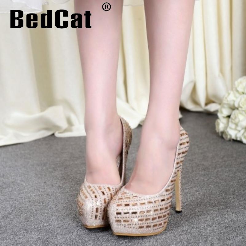 women high heel shoes platform woman wedding studded stiletto sexy brand fashion heeled pumps heels shoes size 34-39 P19191<br><br>Aliexpress
