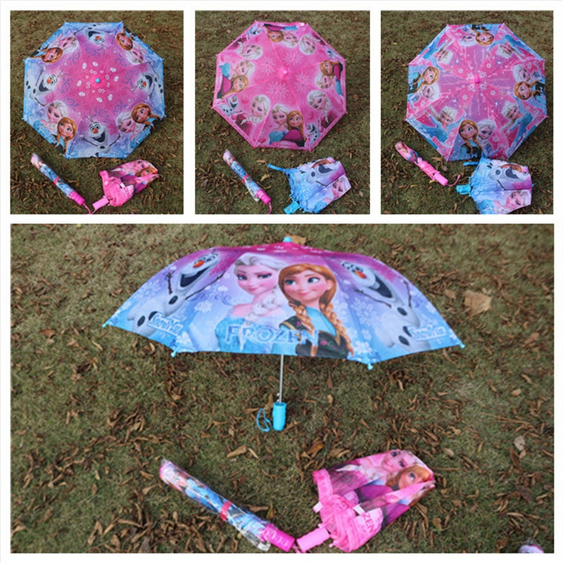 Free Shipping New Cute Kids Umbrella Fold Umbrella Children Kids Umbrella Girls As Novelty Gifts lace Automatic umbrella(China (Mainland))