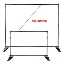 Free Shipping!8'x8' Step And Repeat Backdrop Telescopic Pop Up Banner Stand System For Trade Show(China (Mainland))